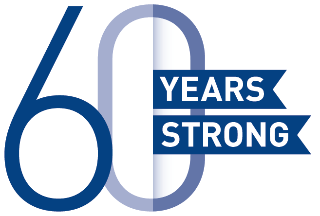 60 Years Strong Logo Web
