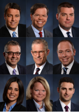 collage of knox law attorneys who are included on 2020 Super Lawyers list
