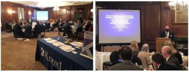 collage of two images from our 2019 Professional Advisor Symposium in Pittsburgh