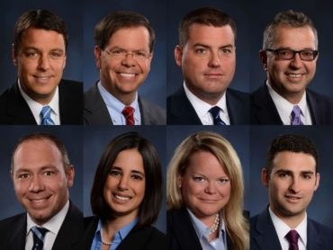 collage image showing knox law lawyers on the 2019 super lawyers list