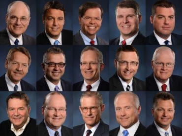 collage image showing knox law lawyers on the 2021 best lawyers list