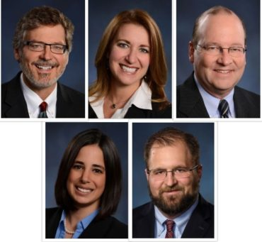 collage of knox law attorneys who spoke at IU4 event in 2019
