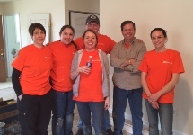 knox law employees at habitat for humanity 2016