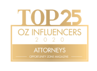 Top 25 Opportunity Zone Attorney Influencers
