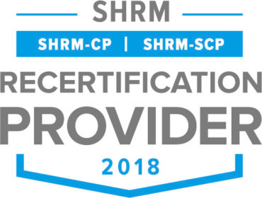 SHRM Recertification Provider CP SCP Seal 2018 CMYK